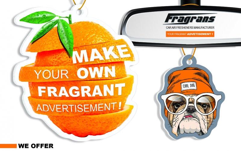 Zawieszki reklamowe – Fragrans